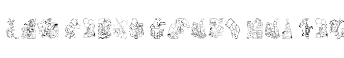 Preview of 001 Disney's Pooh3 Regular