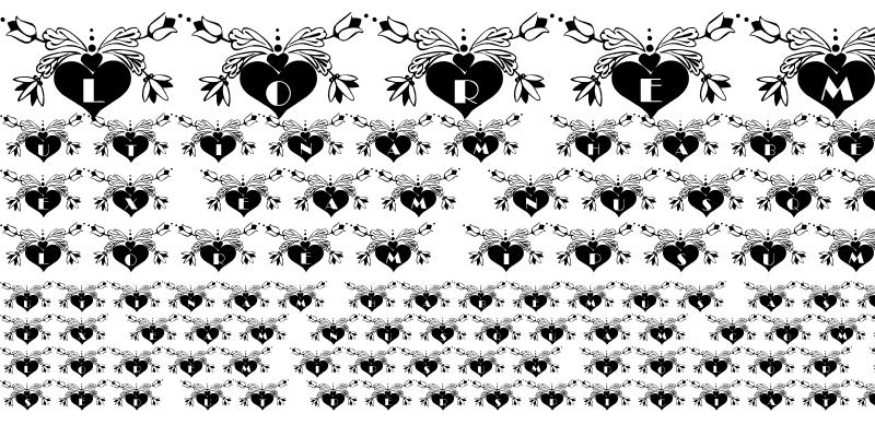 Sample of 101! Dezigner HeartZ