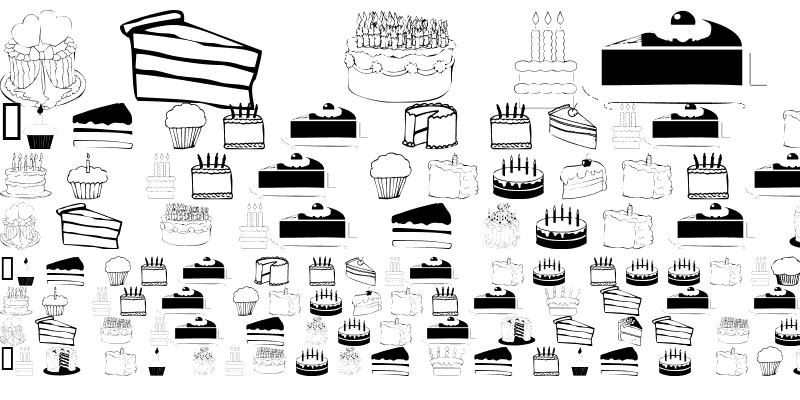 Sample of 101! Partee CakeZ & CandleZ Regular