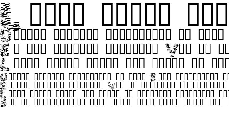 Sample of 101! Zebra Print