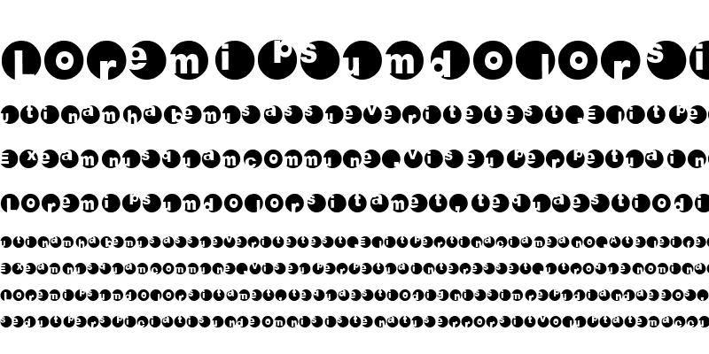 Sample of 2Peas Circles Regular