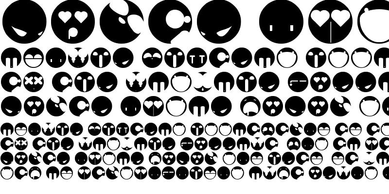 Sample of aaronfaces