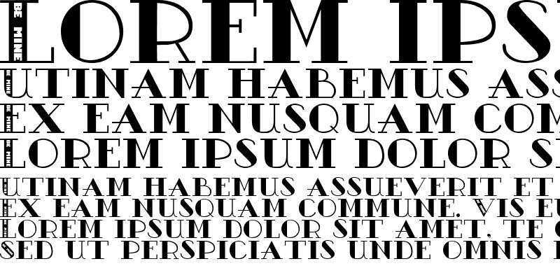 Sample of AC3-BeMine