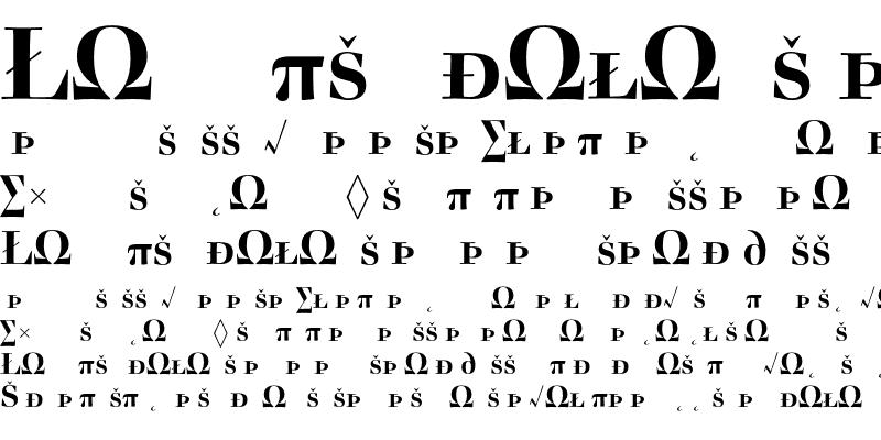 Sample of Acanthus SmallCapsExpert Bold