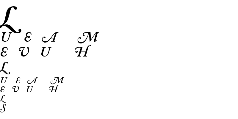 Sample of ACaslon SwashItalic