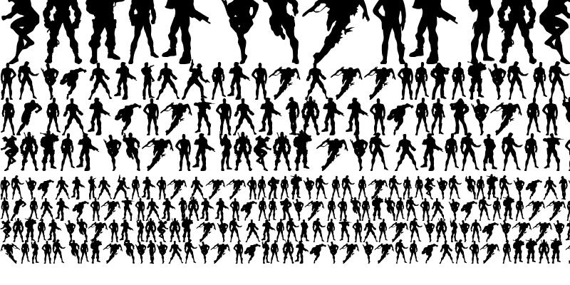 Sample of Action Men