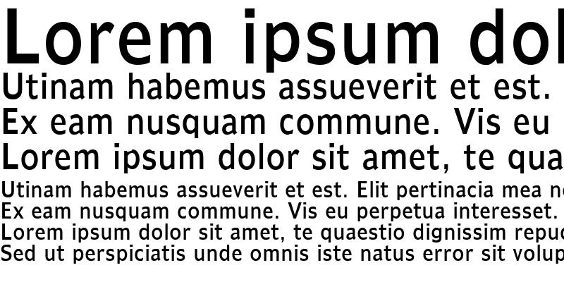 Sample of Adams Condensed Normal