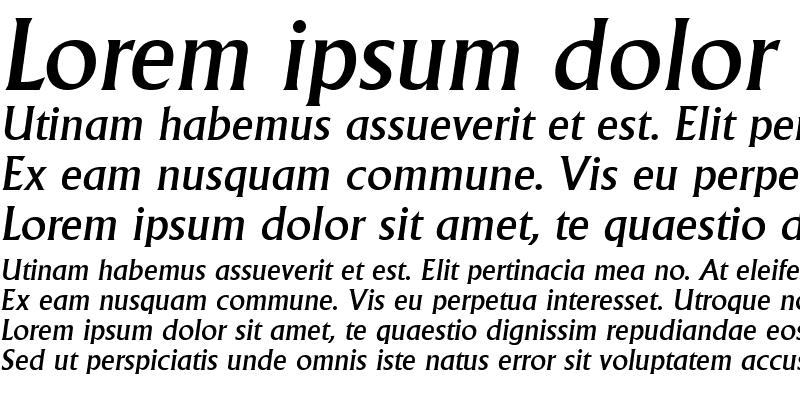 Sample of Adelon-MediumIta