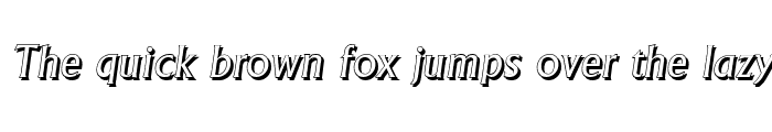 Preview of AdelonShadow Italic