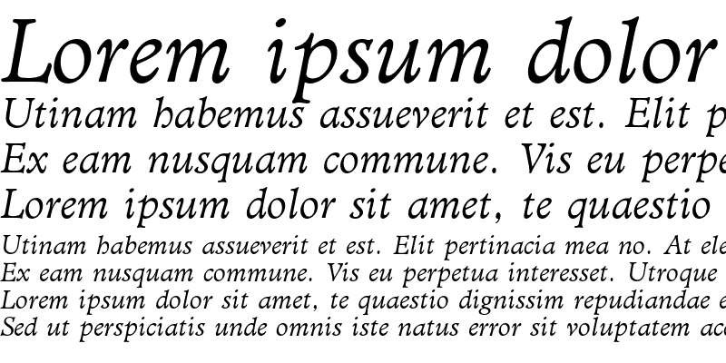 Sample of Administer AT Book Italic