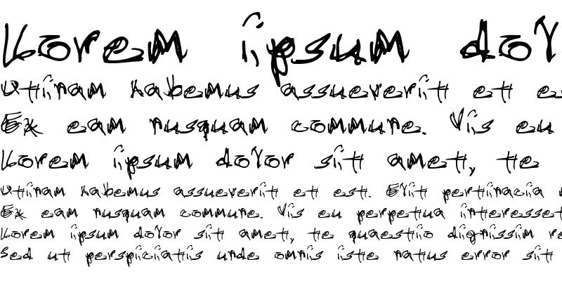 Sample of Administrator Password