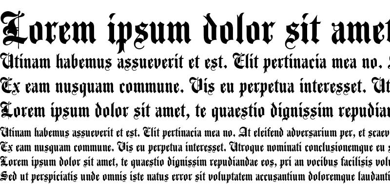 Sample of Agincourt Regular