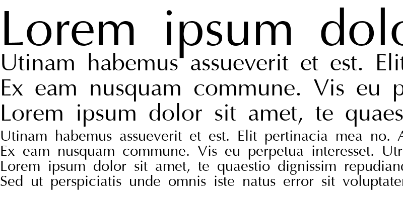 Sample of AGOptCyrillic Normal
