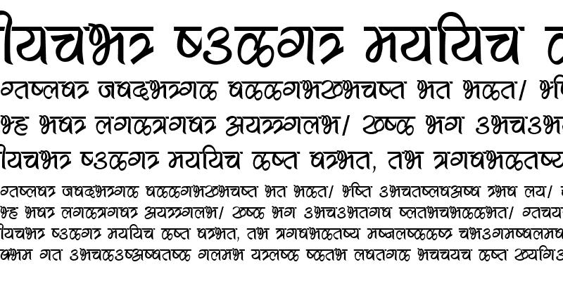 Sample of Akkal Font Regular