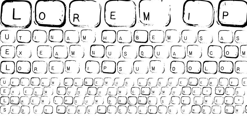 Sample of AL Keyboard