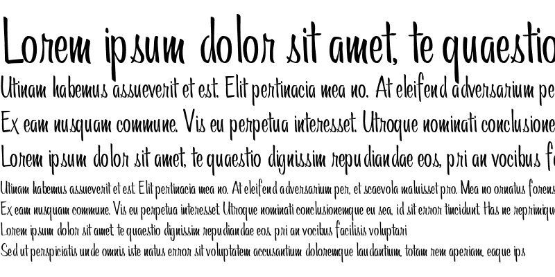 Sample of AL Meaningful