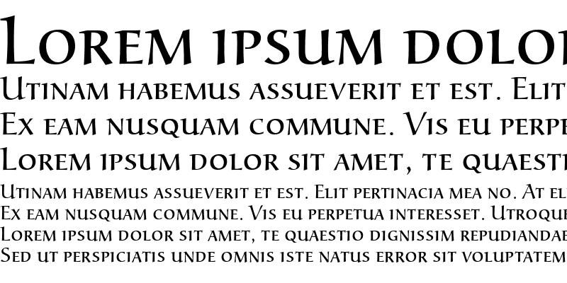 Sample of Alcuin Becker Caps Light