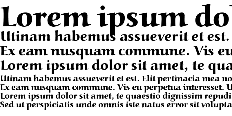 Sample of Alcuin Becker Ext Bold