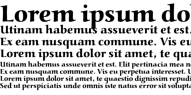 Sample of Aldebaran Bold