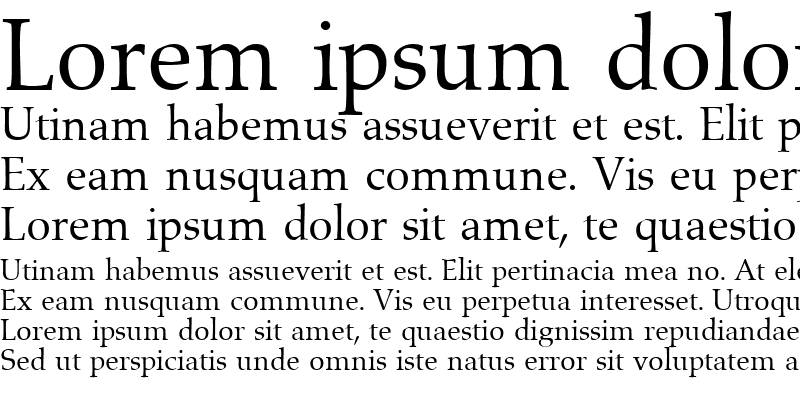 Sample of Aldebaran Regular