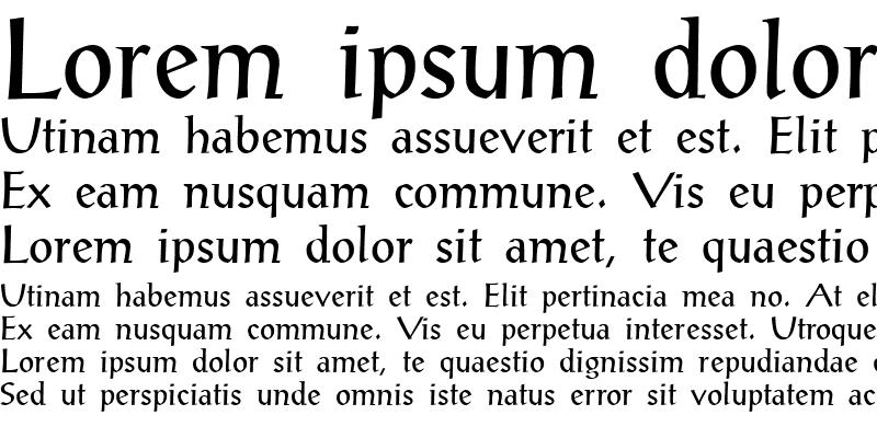 Sample of Alex-Antiqua Book