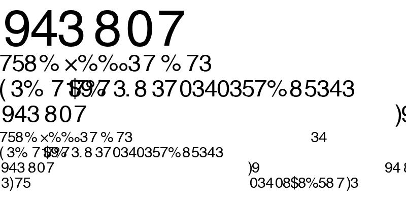 Sample of Alex-Fraction