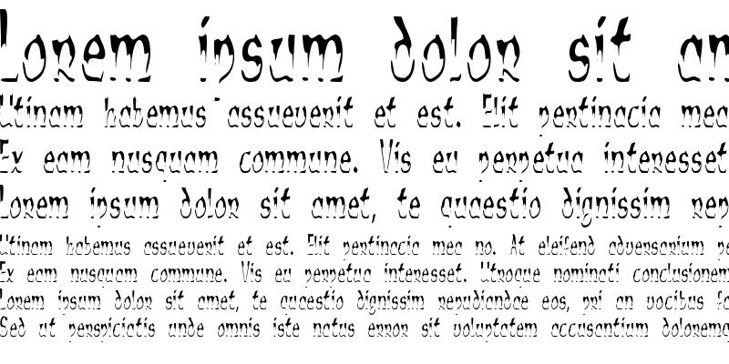 Sample of Alien Script
