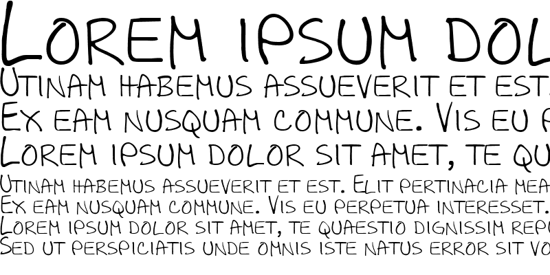 Sample of All Caps