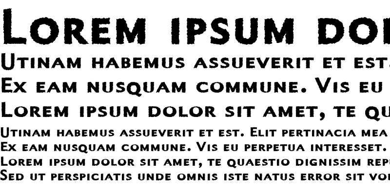 Sample of Alphabet4 Regular