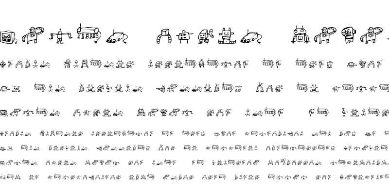 Sample of Alphabots Regular