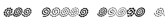 Preview of Altemus Spirals Italic