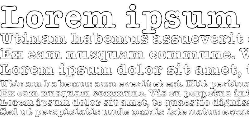 Sample of American Type Outline