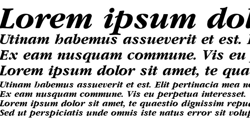 Sample of Amethyst Bold Italic Bold Italic