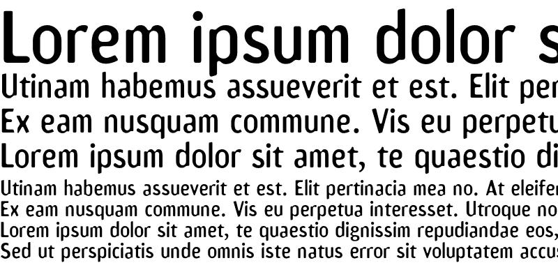 Sample of Amoebia Sans