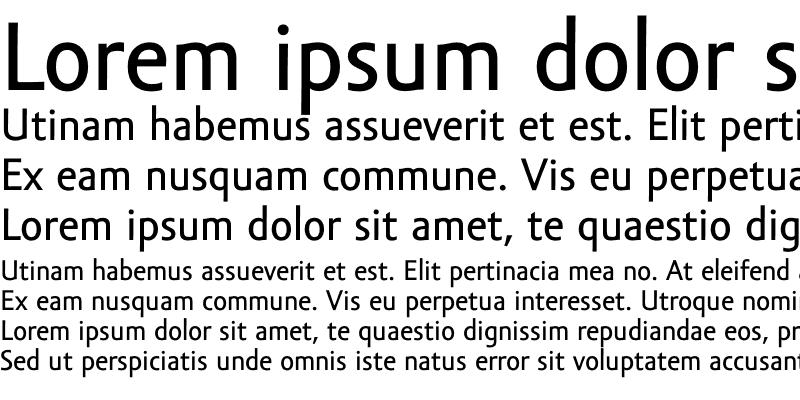 Sample of Amor Sans Text Pro