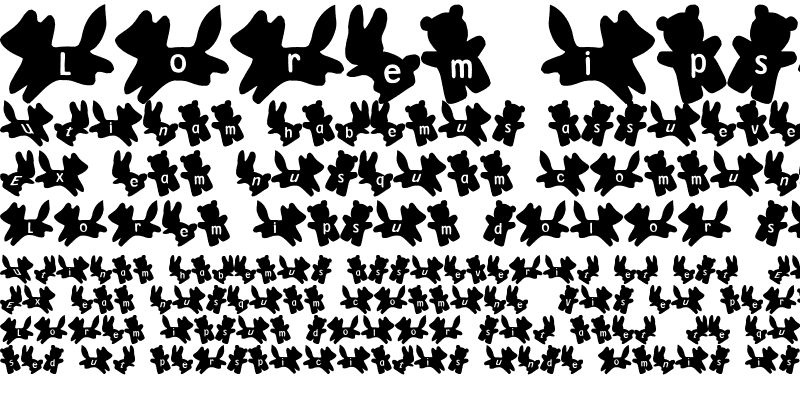 Sample of ani Font