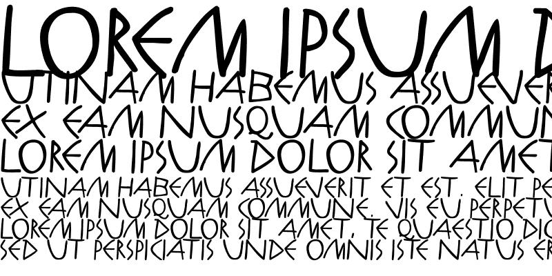 Sample of AntikAlphaBeta-Bold