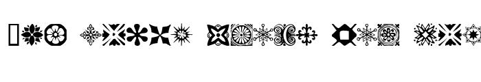 Preview of Antique Border Ornaments Regular