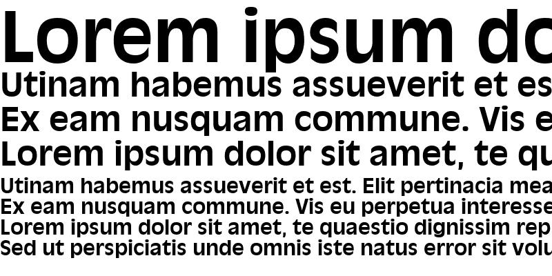 Sample of AntiqueOlive LT Roman Bold