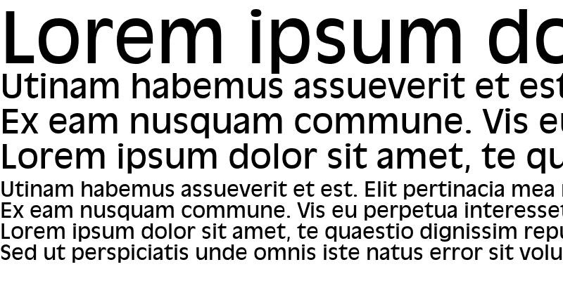 Sample of AntiqueOlive LT Roman