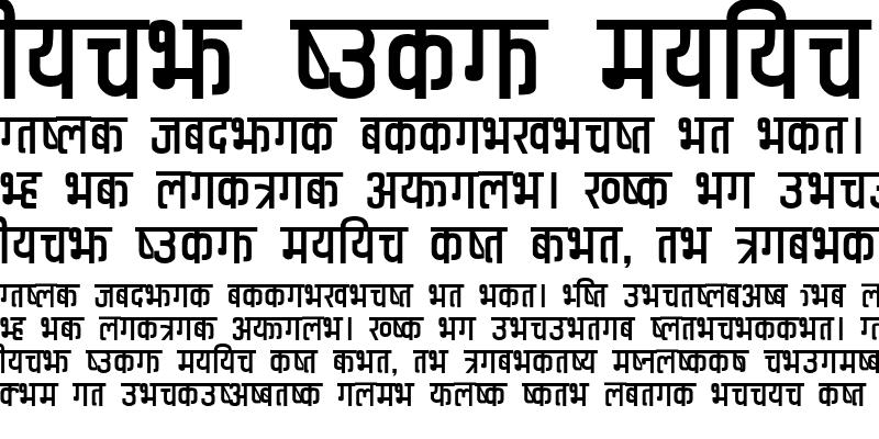 Sample of Anuradha Regular