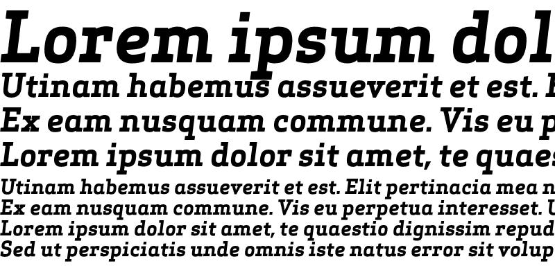 Sample of Apex Serif Bold Italic