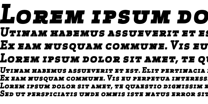 Sample of Apex Serif Extra Bold Italic Ca Regular