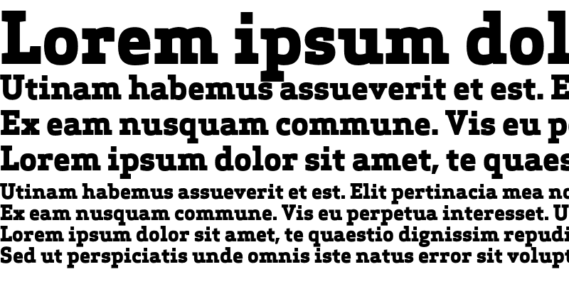 Sample of Apex Serif Extra Bold Regular