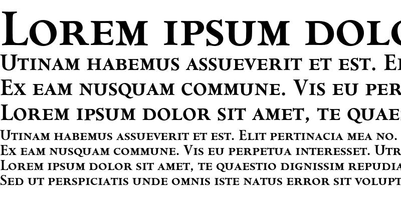 Sample of Aries CapSmallCap Bold
