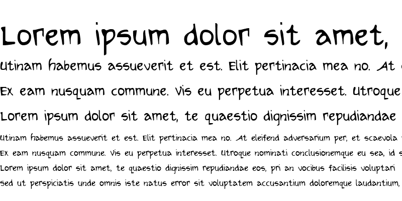 Sample of Arilon Condensed