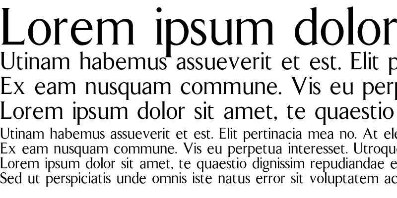 Sample of Arrow Font