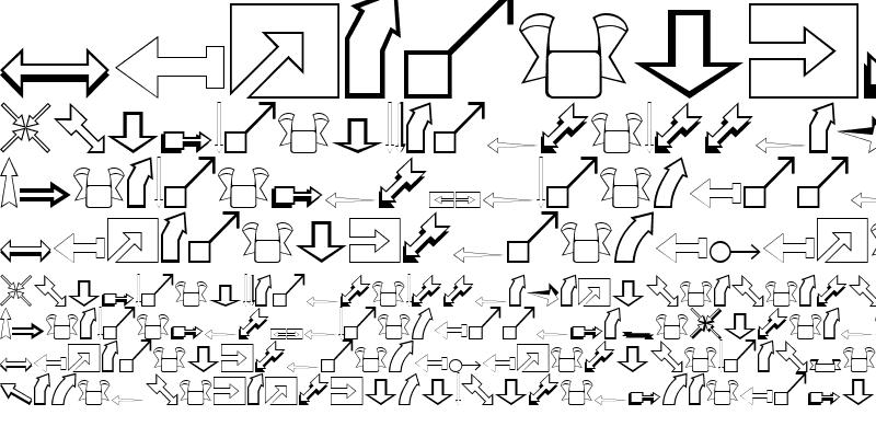 Sample of Arrows Regular