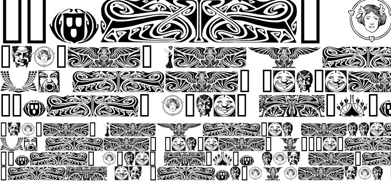 Sample of Art Noveau Headers