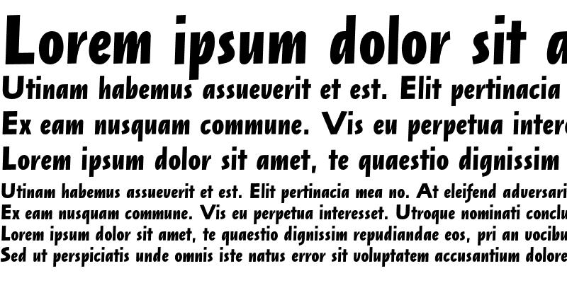 Sample of Arta Std Bold Italic